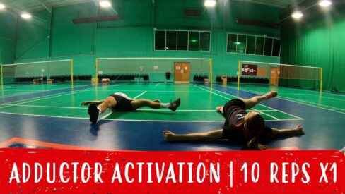 adductor activation warm-up