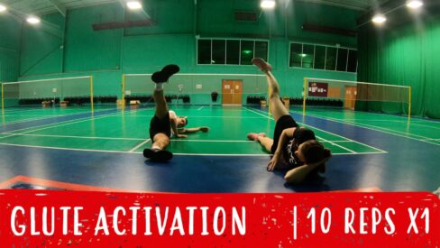 glute activation warm-up